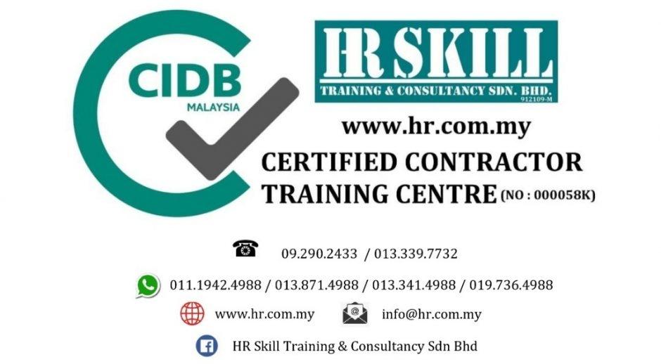 Kursus Pengurusan Sumber Manusia Untuk Syarikat Kontraktor 20 09 2018 Hr Skill Training Consultancy Sdn Bhd 912109 M